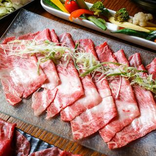 牛肉はすべて神戸牛、A4~A5黒毛和牛を使用