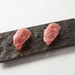 厳選牛肉寿司(2貫)