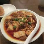 honkakushisenryourisantei - 辛いマーボー豆腐