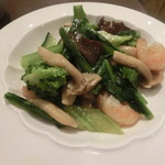 honkakushisenryourisantei - 海老と野菜炒め