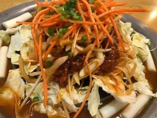 韓国家庭料理ハレルヤ - 火入れ前