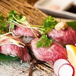 まりも亭 - 神戸牛炙り寿司