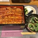 鰻 むさし乃 - 和匠鰻新仔鰻重+肝吸い