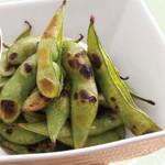 つくしんぼう - 焼き枝豆