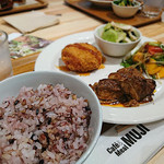 カフェ&ミール ムジ - ご飯は+100円で十穀米に変更可