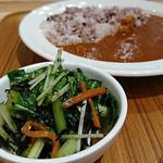 カフェ&ミール ムジ - 江戸菜とひじきのサラダ
