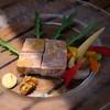 田舎風お肉のパテ〝マスタードとお野菜のソートアチェート添え〟