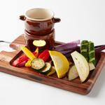 エロうま野菜のバーニャカウダー