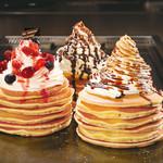 道とん堀 - ハワイアンパンケーキ