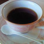 ラ リベラ - ランチAコース(1300円)のコーヒー
