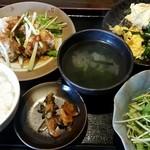 中国食房 凛 - 日替わりランチ700円