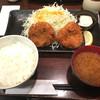ハナミツ - 料理写真:ヒレかつ定食(1100円)
