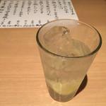 二◯加屋長介 - レモンサワー