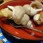 もりもり寿し - 梅貝のうま煮