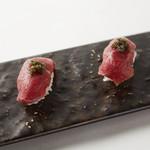 お寿司のクイーン(2貫)