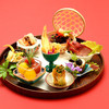 china bistro 八寸 - 料理写真:「八寸」スペシャリテ一口前菜の小鉢盛合せ