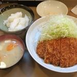とん喜 - 特製ロースかつ定食1,500円
