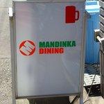 MANDINKA DINING - 看板