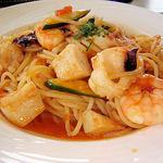 706562 - 海の幸と夏野菜の猟師風スパゲッティ