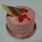 70600532 - 洋梨と木苺のムースがフルーティ!ポワール・フレーズ540円