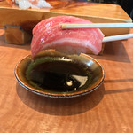 70601026 - 回転寿司しんせんや(愛媛県松山市春美町)大漁おおみ ・大トロ