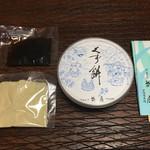 御菓子司 菊屋 - くず餅