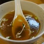 あぺたいと - (2017/5月)餃子Aセットのスープ