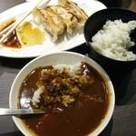 肉餃子専門店 THE GYO - 「肉汁焼き餃子ランチ」580円