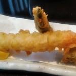 音音 - [料理] 揚げ立て天ぷら 3種盛り