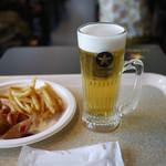 サッポロ生ビール黒ラベル THE PERFECT BEER GARDEN 2018 TOKYO - パーフェクト黒ラベル&カリーブルスト~☆