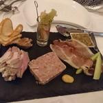フランス料理  セルジュ&ジェーン - 前菜盛り合わせ