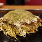 お好み焼 オモニ - 料理写真:☆【オモニ】さん…オモニ焼き(≧▽≦)/~♡☆