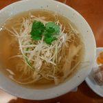 70607253 - 鶏ネギスープ麺