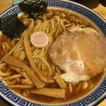 魂の中華そば - 料理写真:中華そば(750円)
