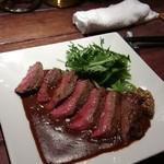 横浜トリスバー - ラム肉のステーキ