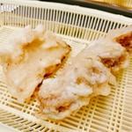 だるまの天ぷら定食 - ○蓮根しゃん○ほてたしゃん