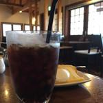 cafe512 - アイスコーヒー(税込420円)(2017.07現在)