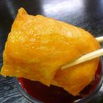 孫四郎そば - ◆いなり寿司