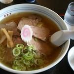 手打蕎麦 きふね - チャーシュー麺850円