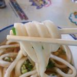 讃岐製麺所 - 太い方