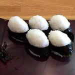 千寿 - 料理写真:天むす