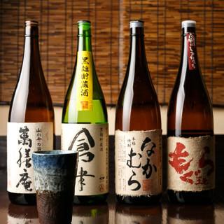 日本酒・焼酎・ドリンク類も豊富!