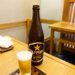 昇月庵 - 瓶ビール