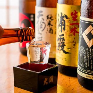 こだわりの本格焼酎&日本酒の数々をリーズナブルに…*☆