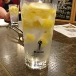 大将軍 - カチカチレモンサワーはレモンも凍ってるのだ!