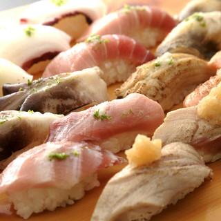 【炙り+ゆず塩】醤油をつけない江戸前寿司!