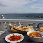 インドレストランカフェ カリカ - ランチのキチンカレー&オニオンピックル