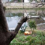 侘助 - 侘助 店から見る川の流れ