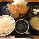 70622359 - ロースミックス定食(1500円)