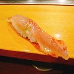 寿司大 - 金目鯛昆布〆!